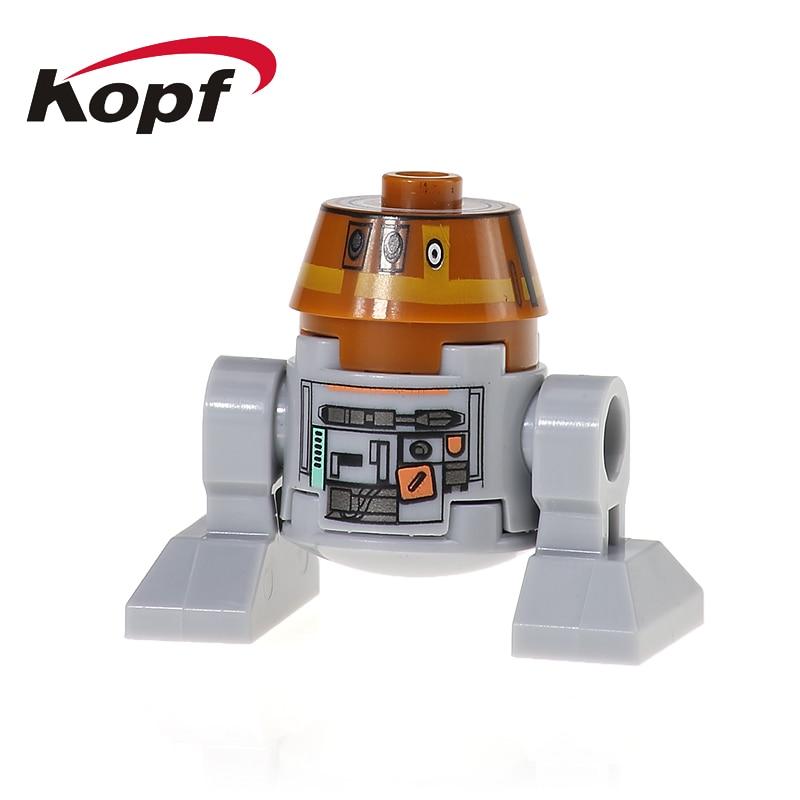 XH 526 C110P Singel Sale The Last Jedi Smart Robot BB8 R2-D2 Building Blocks Education Figures Assemble Toys Toys For Children