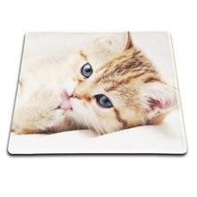 Новое Прибытие Cute Cat Замок Края Резиновый Коврик Для Мышей ПК Портативный компьютер Игровой Коврик Для Мыши Игровой Коврик Для Мыши Три Размера для Chooce