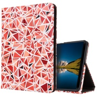 For Samsung Galaxy Tab S3 9 7 T820 Cases Printing Leather Stand Casing With Elastic Hand