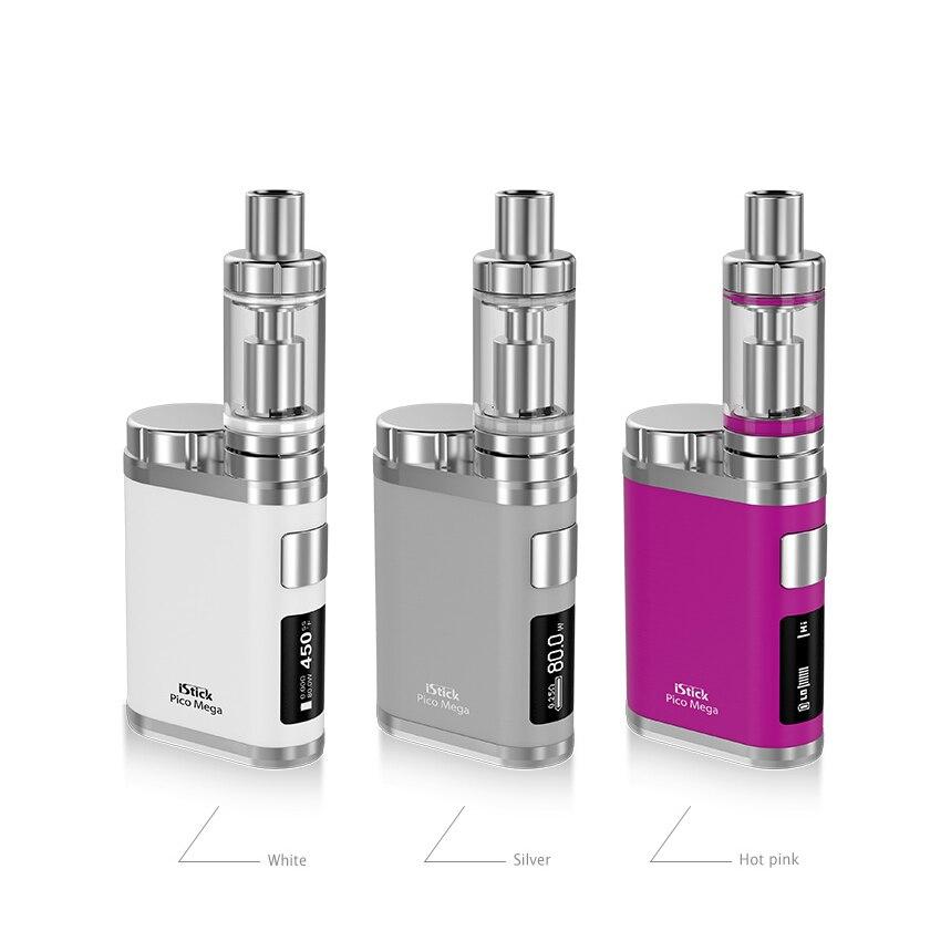 Original Electronic Cigarette Eleaf iStick Pico Mega TC Kit 80W Pico Mega Box Mod Vape and