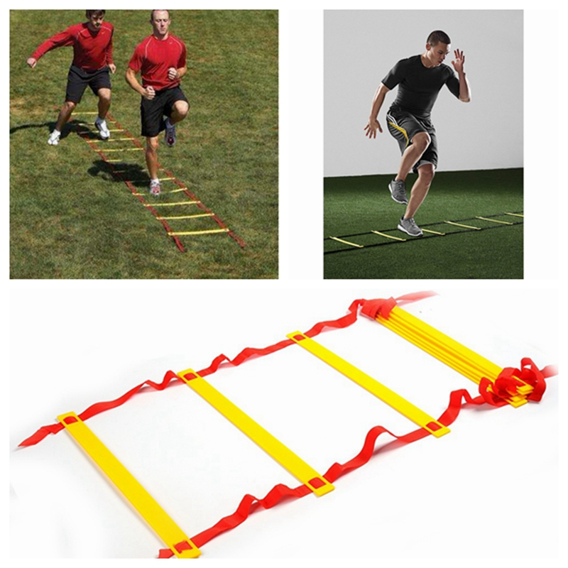 Outdoor Fitness Equipment 6 Feet 2M Agility Agile Training 4 Rs Ladder for Soccer Football Feet coordination Training