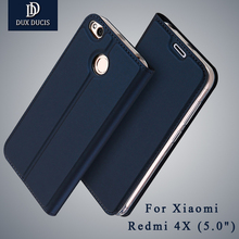 Dux DUCIS Xiaomi Redmi 4x чехол Бумажник кожаный чехол Xiaomi Redmi 4 X Pro премьер Стенд откидная крышка для xiomi Redmi 4 X случаях 5.0″