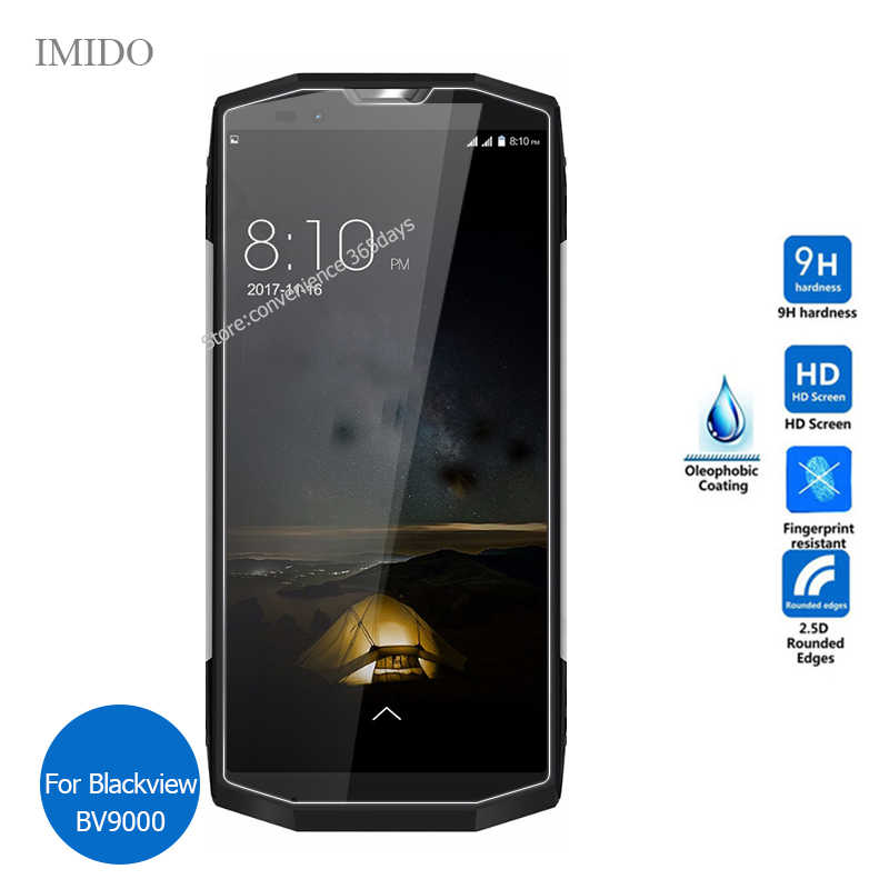 Tempered Glass For Blackview Bv9000 Pro BV9500 P10000 A7 Screen Protector 9h Safety Protective Film On Black View Bv 9000 9500
