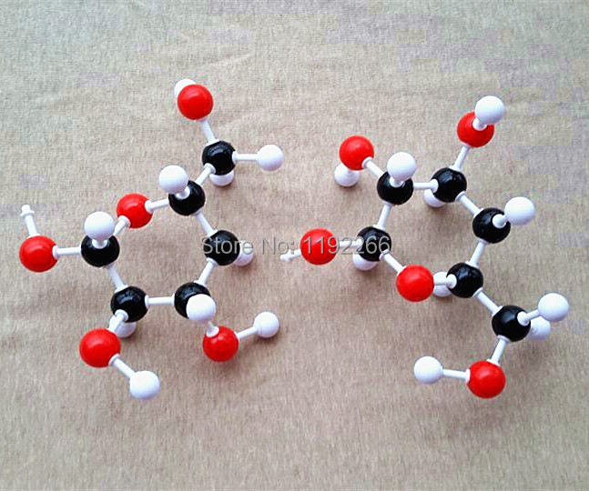 Cellulose molecular model / Cellulose structure model (C6H10O5)2  DLS-2376 free shipping gum tragacanth и carboxyмethyl cellulose где