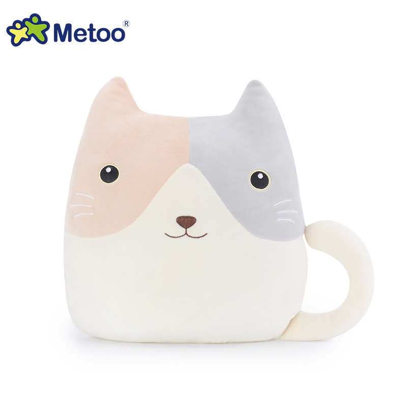 Kawaii Plush Stuffed Animal Cartoon Kids Toys for Girls Children Baby Birthday Christmas Gift Elephant Pillow Metoo Doll 1pc 65cm cartion cute u shape pillow kawaii cat panda soft cushion home decoration kids birthday christmas gift