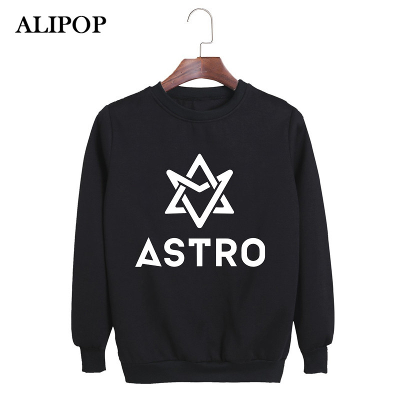 US $15 99 |KPOP Korean ASTRO Spring Up Album MJ Rocky JINJIN EUNWOO MOONBIN  SANHA Cotton Hoodies K pop Pullovers Sweatshirts PT066-in Hoodies &