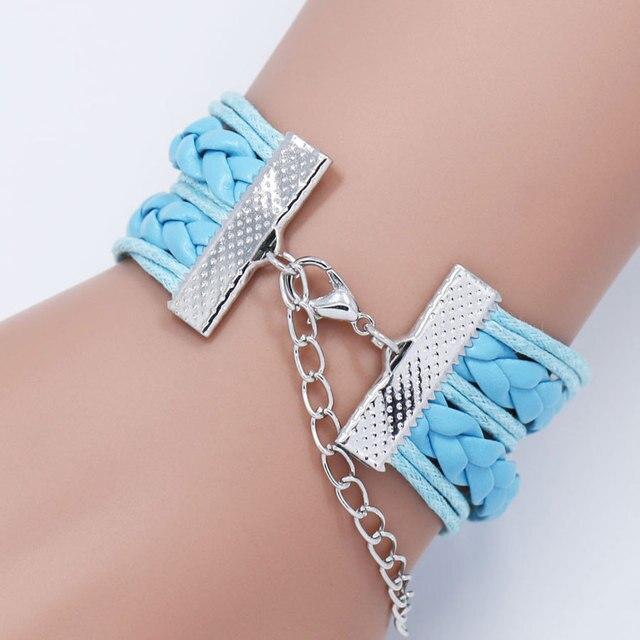 Leather Unicorn Bracelets