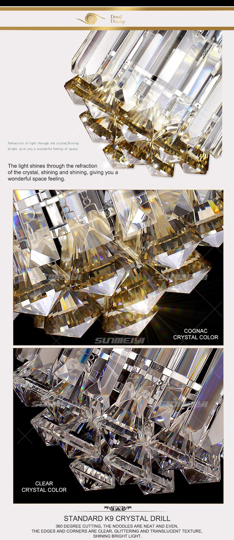 Crystal Ceiling Lights 05