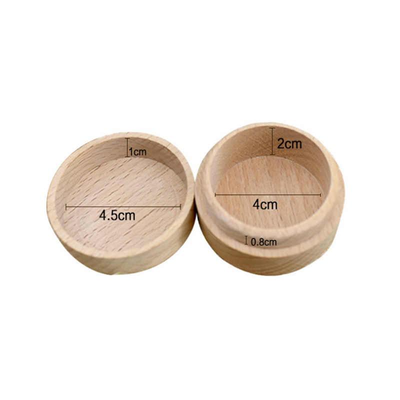 أعلى بيع الفاخرة الخشب حلقة مربع شخصية ريفي الزفاف حامل مخصص أسماء وتاريخ الزفاف خاتم حاملها مربع
