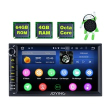 New Product Double 2 Din 4GB +64GB Head Unit Android Universal Car Radio Stereo Multimedia Player Tape Recorder With Video Out
