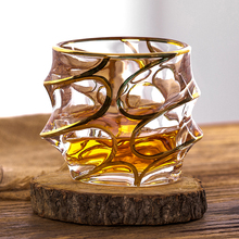Europe Retro whiskey glass Creative Glass Wine Cup Household Beer Phnom Penh Water cup Barware Party wedding drinkware