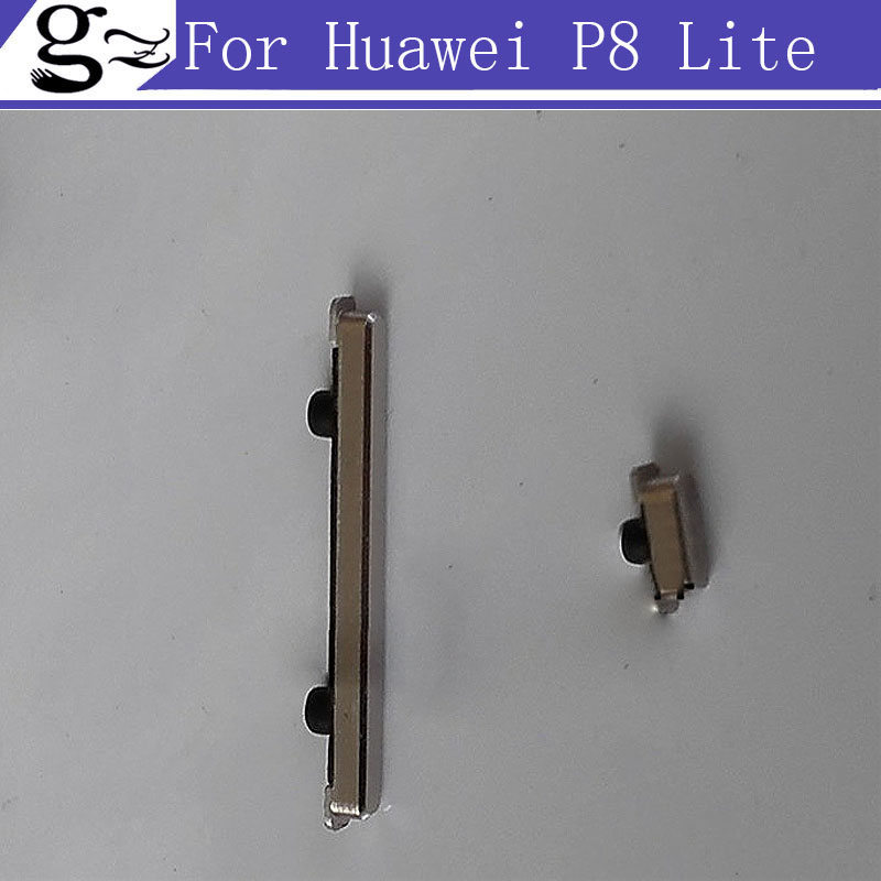 A+Quality New Volume side button on/off power switch Key For Huawei P8 Lite Phone Free Shipping