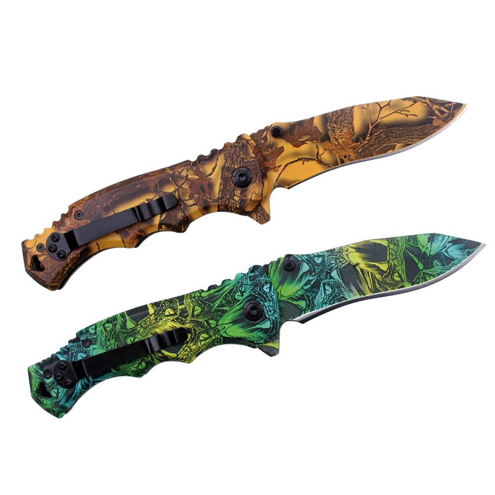 Herramientas de supervivencia Cuchillo plegable Karambit CSGo Tools - Herramientas manuales - foto 2