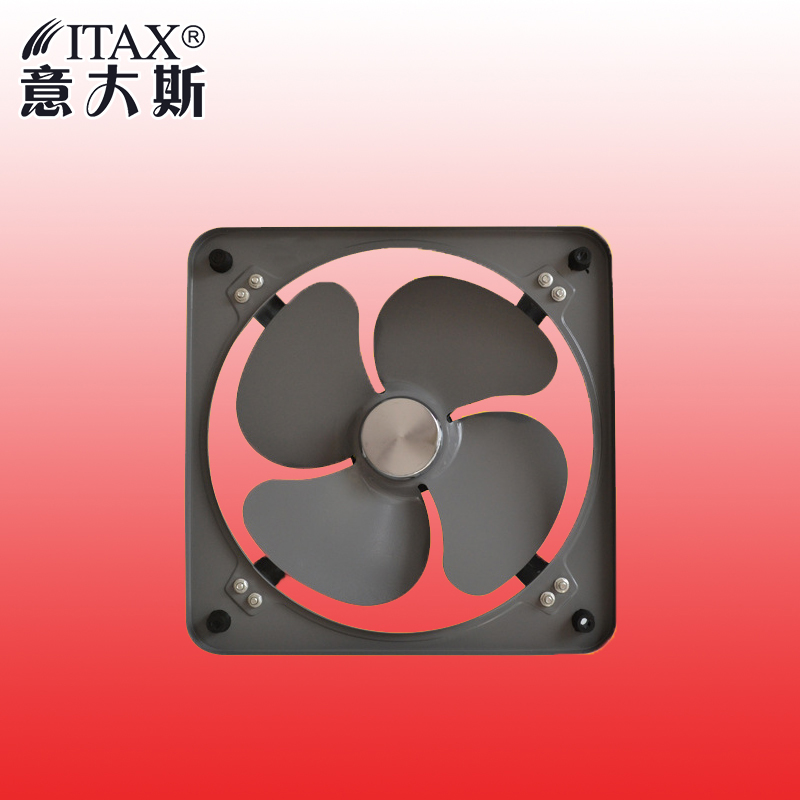 ITASFA-300 Powerful industrial wind turbine exhaust fan 12-inch ventilator straight exhaust fan special thick wind wheel
