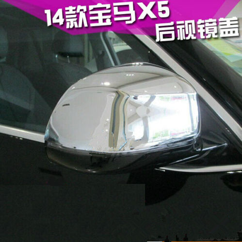 CHROME SIDE MIRROR COVER TRIM MOLDING GARNISH CAP FIT FOR BMW X5 F15 2014 2015CHROME SIDE MIRROR COVER TRIM MOLDING GARNISH CAP FIT FOR BMW X5 F15 2014 2015