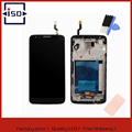 For LG Optimus G2 F320 LCD Touch Screen with Digitizer + Bezel Frame + Tools Assembly,Black/White Replacement Free shipping