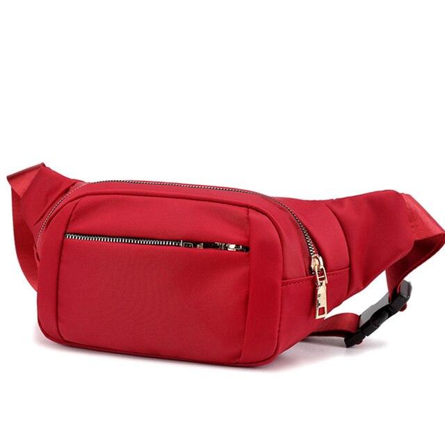 Homens Cintura Pacotes de Viagem Saco de Nylon Cinto de Telefone Bolsa para Mulheres Dos Homens Unisex Ocasional saco de Lona bolsa de Ombro Peito Fanny pack pacote de quadril