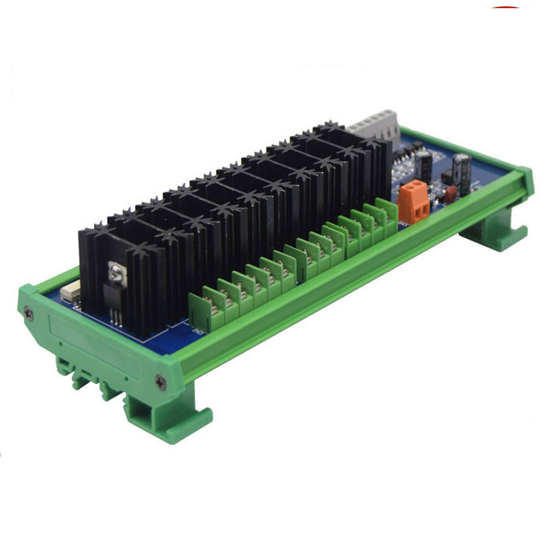 4 8 10 way PLC high power output board original drive tube high frequency high speed optocoupler isolation in Relays from Home Improvement