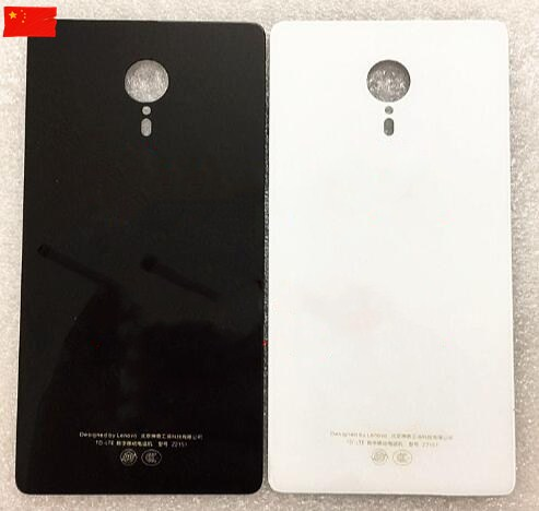 For Lenovo ZUK Edge Back Glass Cover Z2151 Battery Cover Glass With Sticker High Quality New Free Shipping With Tracking Number