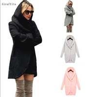2017 Fresh Cotton Material Fashion Women S Slim Long Coat Jacket Windbreaker Parka Outwear Cardigan Coat