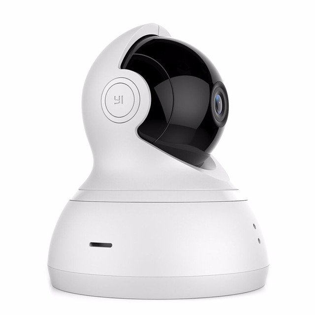 YI Dome Camera Pan/Tilt/Zoom Wireless IP Security Surveillance System HD 720p Night Vision (US / EU Edition)