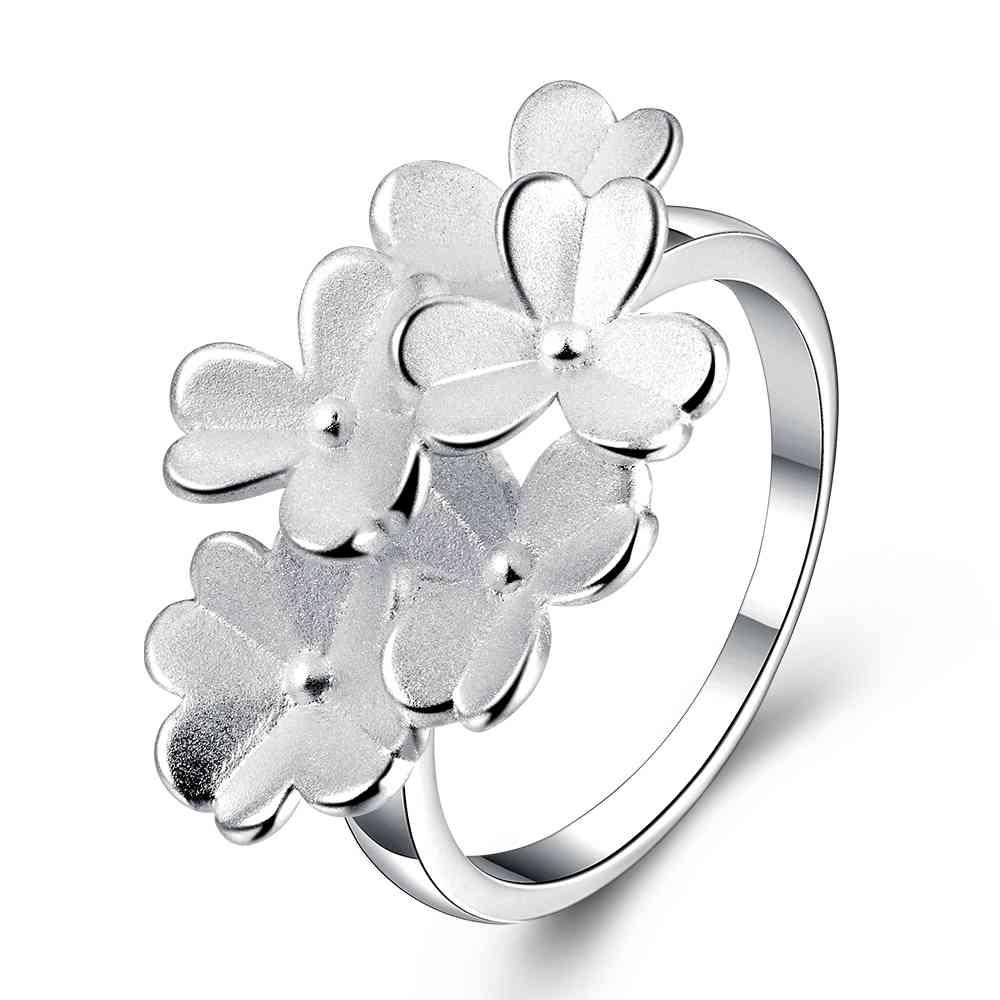Бесплатная Доставка 2015 посеребренная обручальное кольцо Многослойной живописи анель bijoux femme