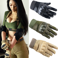 LongKeeper Us Army Tactical Gloves Completa Finger Gloves Black Hawk All'aperto Combattimento Moto antiscivolo In Fibra di Carbonio Guscio di Tartaruga