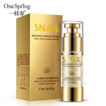 35ml OneSpring Eye Cream Gold Snail Essence Eye Bag Removal Dark Circle Eye Repair Anti Puffiness Anti Aging Anti Wrinkle Care