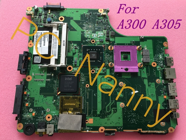 ФОТО For TOSHIBA A300 A305 Laptop Intel motherboard V000126550 6050A2169901 Gm45 ddr2 Working