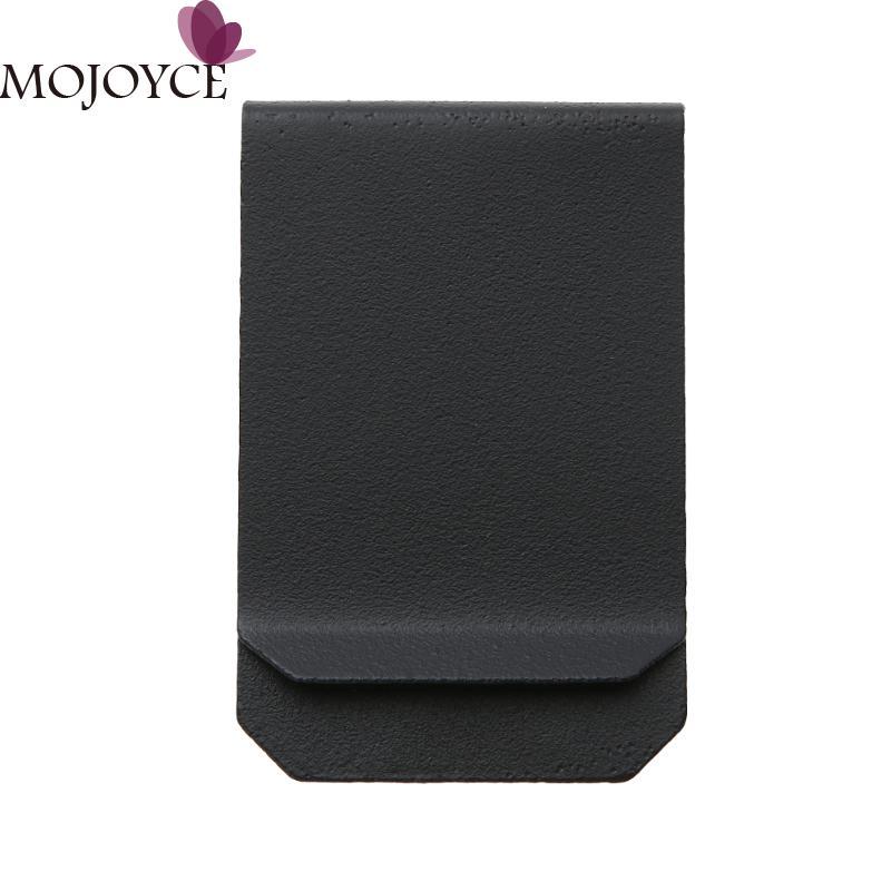 Stainless Steel Latest Multi-Function Men Money Clips Paper Clip Holder Folder Credit Card Portfolio Money Holder Silver Clip