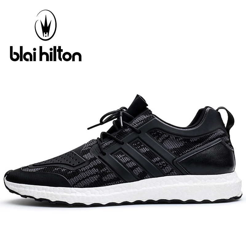 Blaibilton Breathable Running Shoes For Men Light Weight Men's Sneakers 2017 Summer Mesh Lace Up Sport Shoes Man Brand Run Shoes 050 snv