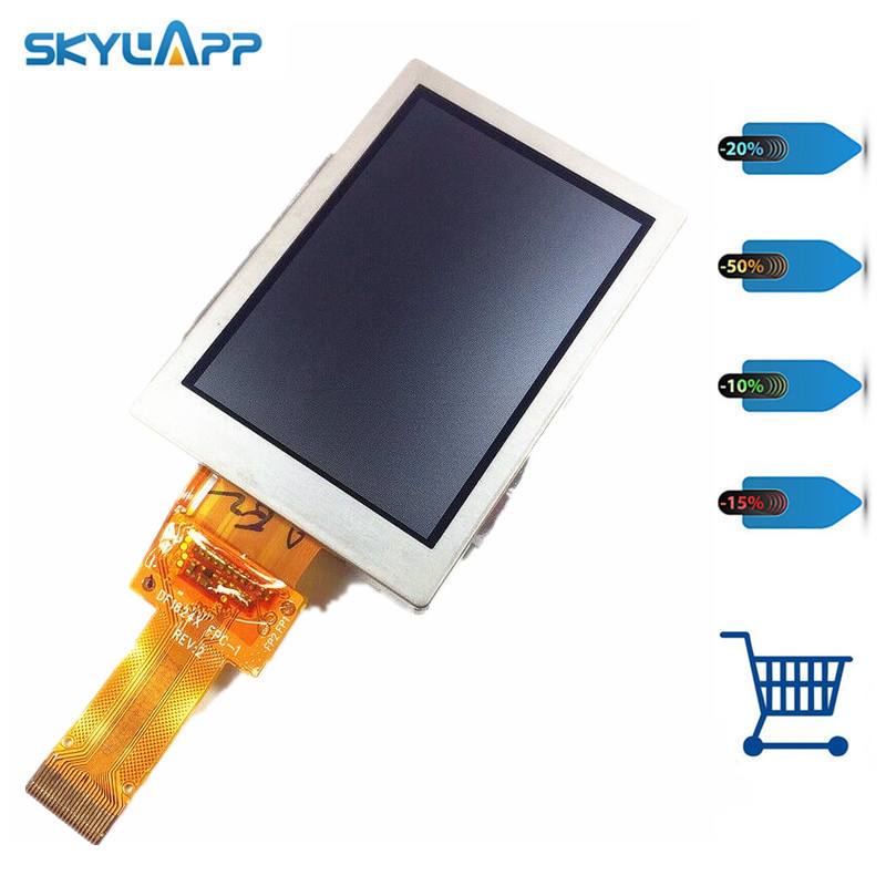Skylarpu 2.6 inch LCD screen For GARMIN GPSMAP 64 64s 64st GPS Nnavigation display panel screen (without touch) Free shipping цены онлайн