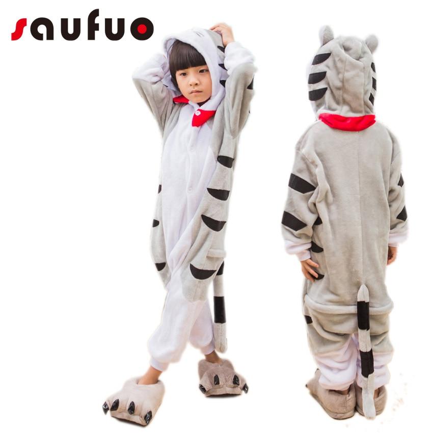 Eläinten Halloween Cosplay Lasten pyjamat Unisex Kid Unicorn Home - Carnival puvut