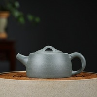210ml Ceramic Teapot Raw Ore Purple Clay Teapot Yixing Zisha Tea Pot Free Shipping Gren Mud Ceover Well Bar Teapot