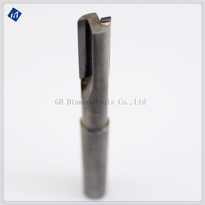 PCD OR PCBN End milling cutter for cutting plastics aluminum and al-alloys L160 D10 L3 12mm customed pcbn