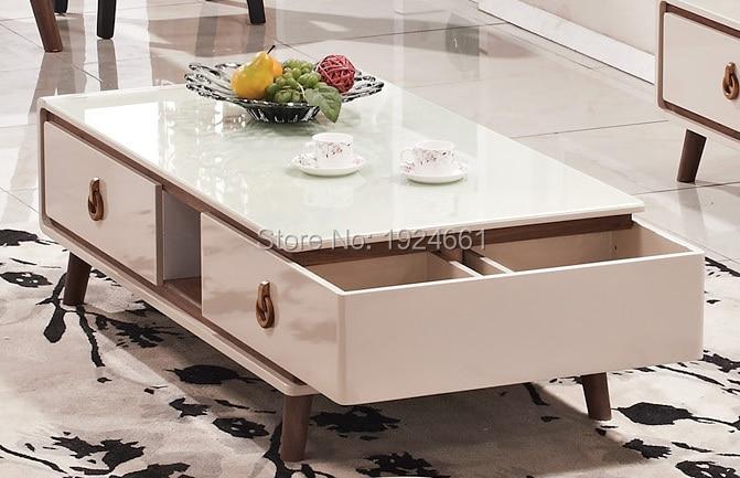 Credenza Con Tope De Marmol : ᓂmesa de centro moderna no mesa café espejo muebles