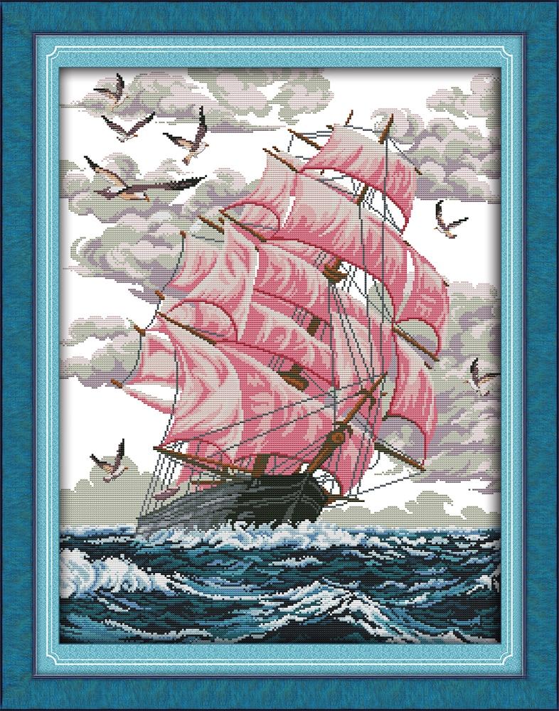 Sail Away Dmc Qets qëndisje për qëndisje për qëndisje të - Arte, zanate dhe qepje