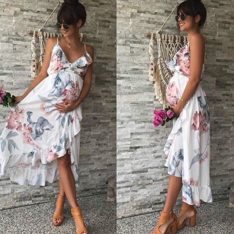 New Maternity Clothes Maternity Dress Pregnancy Dress Pregnant Dress Casual Floral Falbala Pregnants Dress Comfortable SundressNew Maternity Clothes Maternity Dress Pregnancy Dress Pregnant Dress Casual Floral Falbala Pregnants Dress Comfortable Sundress