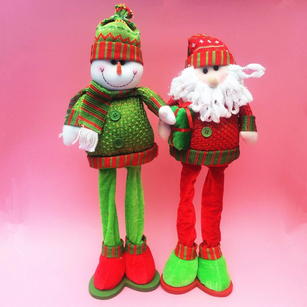Online get cheap stuffed santa clause for Xmas decorations online