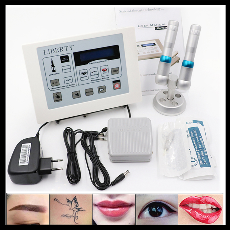 Original Liberty dermographe maquillage Permanent Makeup machine Digital tattoo machine tattoo kit tattoo needle tattoo gun