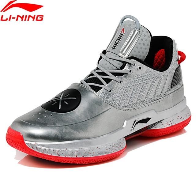 Li Ning Uomini WOW 7 VETERANO Scarpe Da Basket wayofwade 7 CUSCINO wow7 Fodera li ning CLOUD BOUNSE + Sport scarpe ABAN079 XYL212