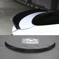 Для BMW F16 F86 X6 X6M 3D Стиль стайлинга автомобилей Реальные углеродного волокна задний багажник спойлер Splitter крыло