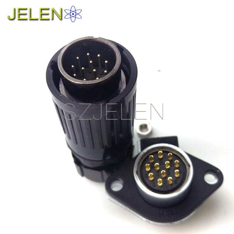 Aliexpress Com Buy He20 Connector Waterproof 12 Pins