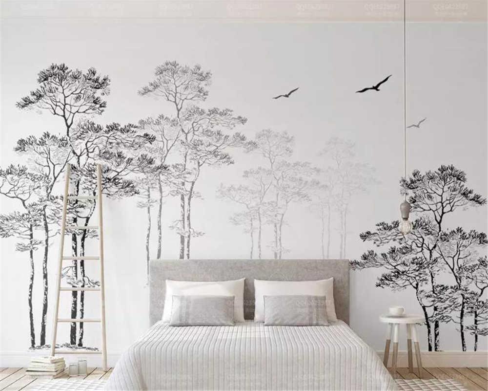 Фотообои картинки черно белые на стену