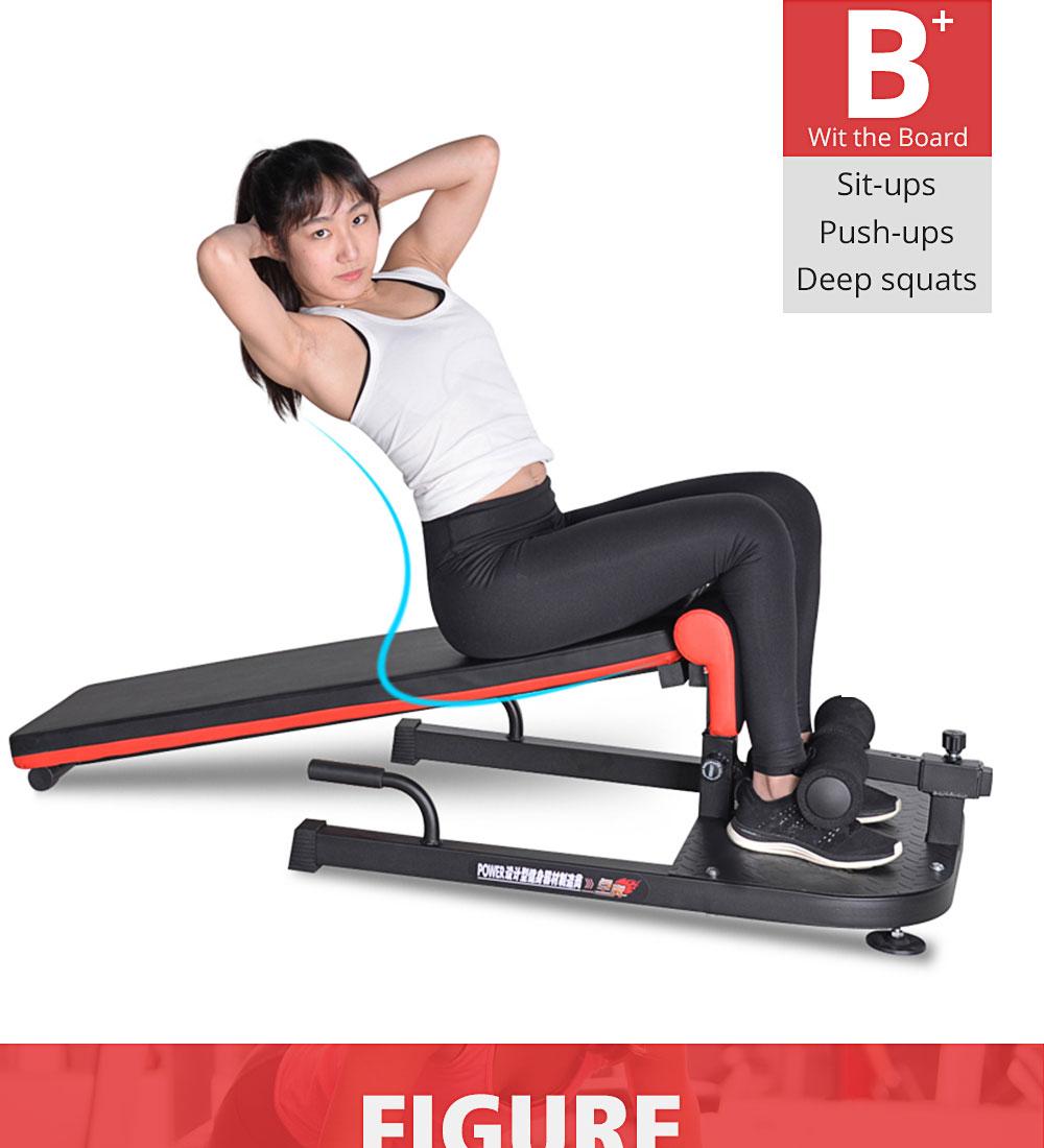 e19bdcf46f7e7c ALBREDA Multifunctional body building equipment Sit up board device ...