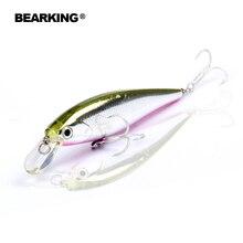 Bearking 1PC 6.5cm 5g  Hard Fishing Lure Crank Bait dive 0.8-1.2m Lake River Fishing Wobblers Carp Fishing Baits
