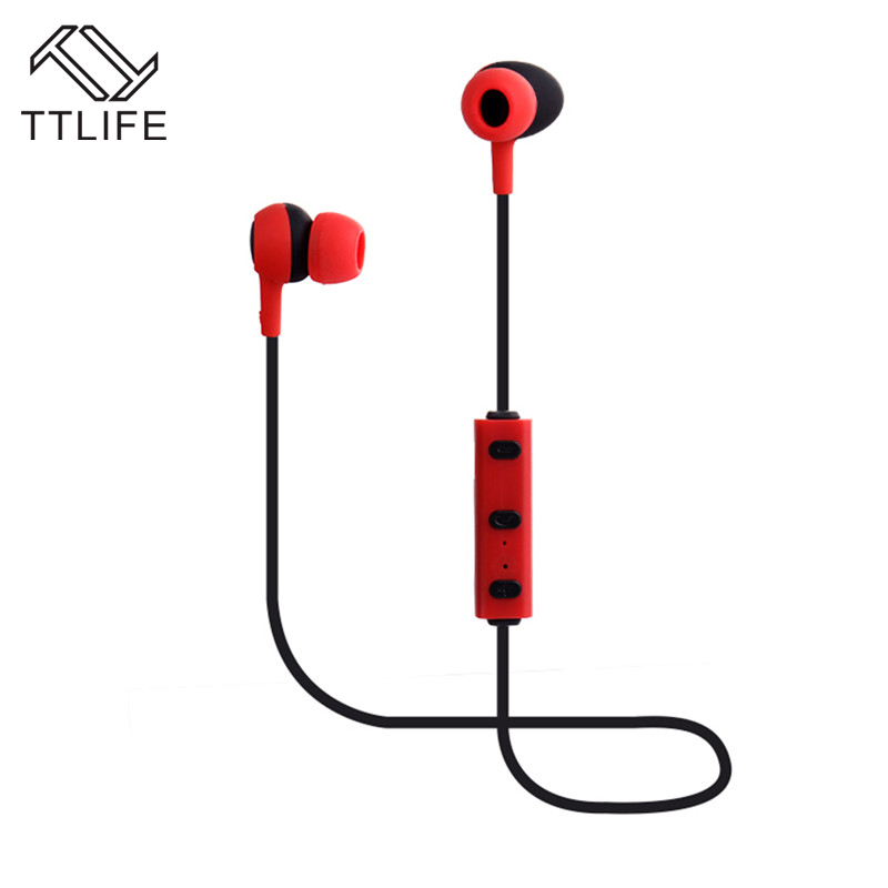 TTLIFE Brand  Wireless Bluetooth 4.1 Stereo Earphone Fashion Sport Running Earphones Studio Music Headset with Mic Working 4 h fw1s 2016 new arrival q9 wireless bluetooth 4 1 stereo earphone sport running studio free shipping