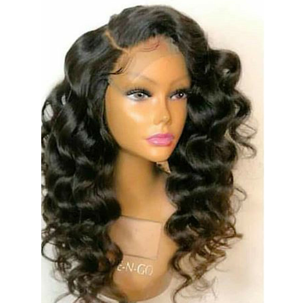 250% High Density Lace Front Human Hair Wigs For Women 13*6 Lace Front Wigs Wavy Wigs Natural Hairline Brazilian Remy Aimoonsa