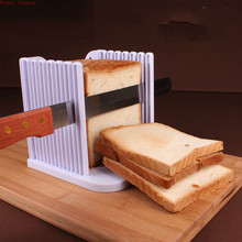 Adjustable Bake Tools Bread Cutter Toast Slicer Kitchen Home  Machine Slicing Rack toast cutter mold bread slicer loaf slicing machine