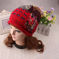 Unisex Outdoor Winter Warm Knit Crochet Ski Hat Braided Headdress Hip Hop Cap  New Design Nov09 send in 2 days